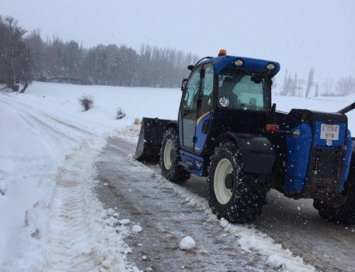 Gran nevada sobre Cañada Juncosa